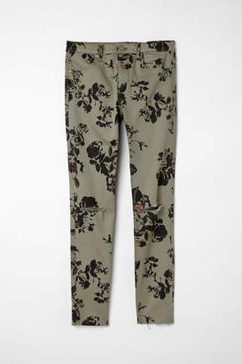 H&M Skinny Regular Ripped Jeans