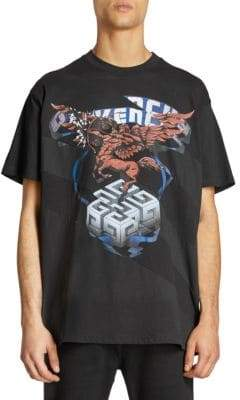 Givenchy Logo Graphic Tee