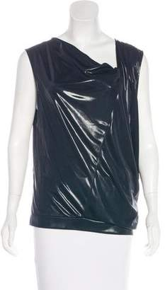 AllSaints Sleeveless Textured Top