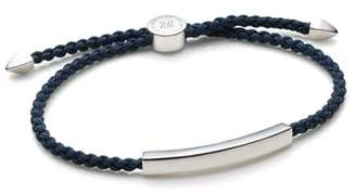 Monica Vinader Engravable Men's Linear Friendship Bracelet