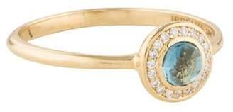 Ippolita Topaz & Diamond Lollipop Ring