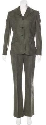 Dolce & Gabbana Pinstripe Virgin Wool Three-Piece Suit