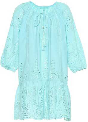 Melissa Odabash Ashley embroidered cotton cover-up