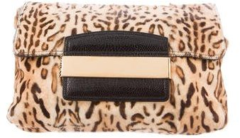 Jimmy Choo Jimmy Choo Ponyhair Carolina Clutch