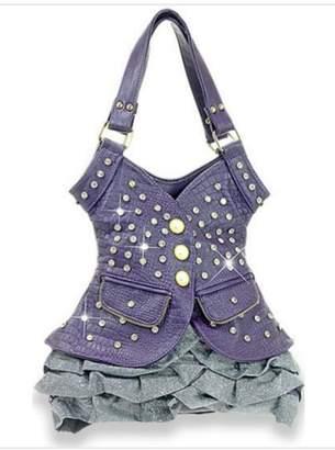 Express Handbag Burgundy Vest Handbag