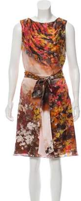 Carlos Miele Floral Sleeveless Dress w/ Tags