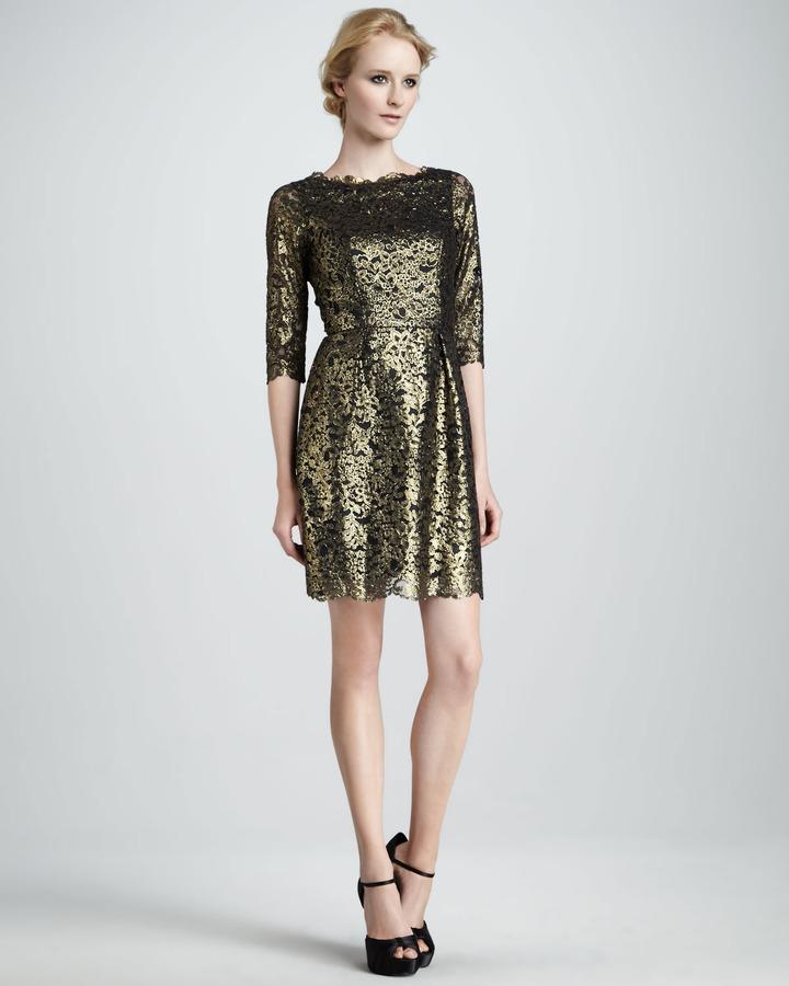 Shoshanna Minka Lace Dress
