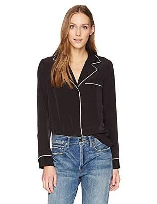 Calvin Klein Women's Button UP Pajama TOP