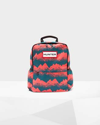 Hunter Printed Nylon Backpack