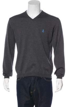 Psycho Bunny Wool V-Neck Sweater