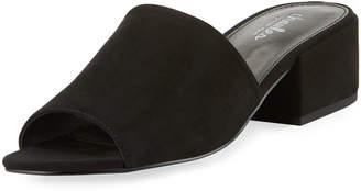 Charles by Charles David Videl Sueded Low-Heel Slide Sandal