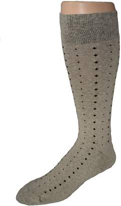 Blend of America America's Socks Men's Big and Tall Patterned Cotton Dress Socks - 2pr Pack