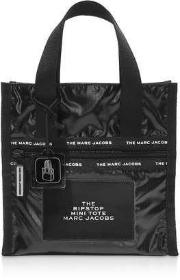 Marc Jacobs The Ripstop Black Nylon Mini Tote