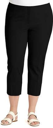 Lafayette 148 New York Cropped Bleecker Pants, Plus Size