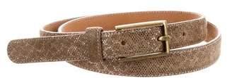 Giorgio Armani Metallic Skinny Belt