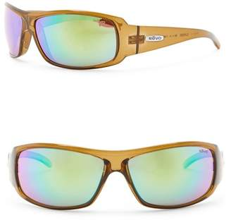 Revo Gunner Polarized 66mm Wrap Sunglasses