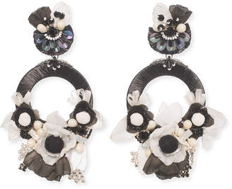 Ranjana Khan Jarita Clip-On Statement Earrings