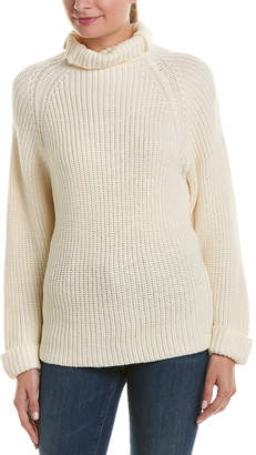 Central Park West Michigan Avenue Bat Wing Wool-Blend Sweater