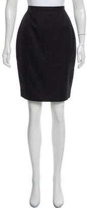 Thierry Mugler A-Line Knee-Length Skirt