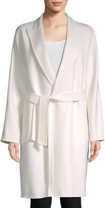 Max Mara Women's Nancy Belted Wool Coat
