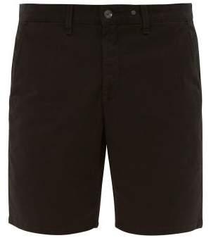 Rag & Bone Cotton Blend Chino Shorts - Mens - Black