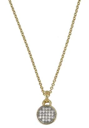 Bony Levy 18K Yellow Gold Diamond Circle Pendant Necklace - 0.06 ctw