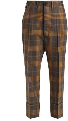 Vivienne Westwood Tartan wool trousers