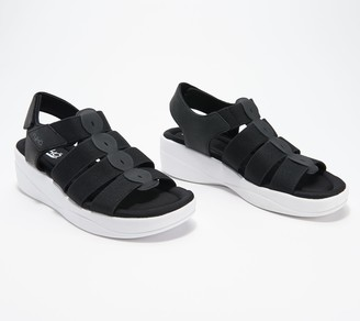 Ryka Multi-Strap Adjustable Wedge Sandals - Aloha