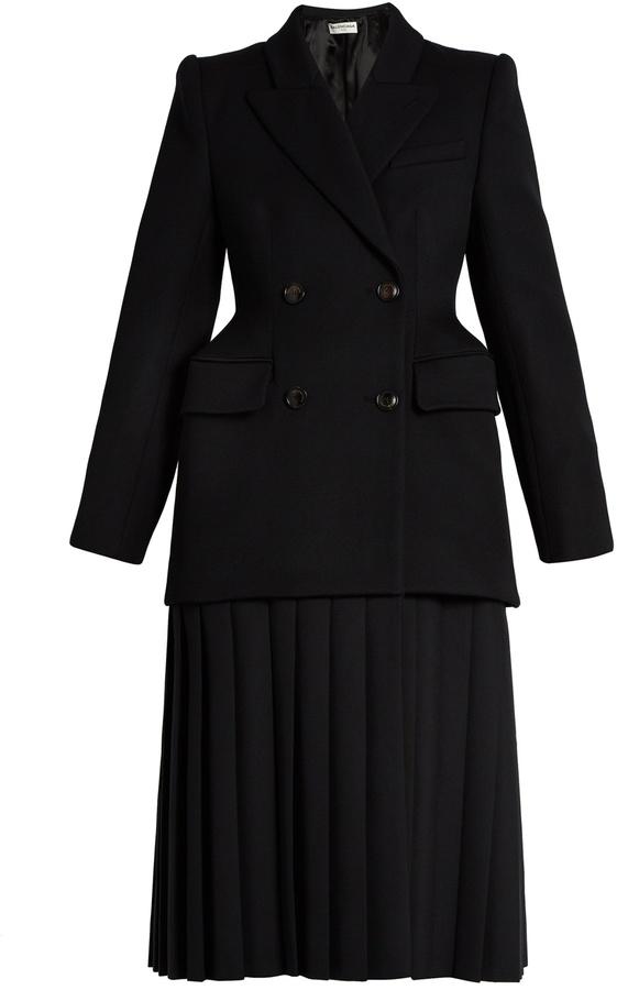 Balenciaga BALENCIAGA Cavalry wool-twill coat