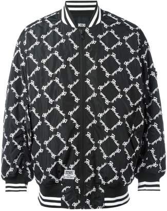 Kokon To Zai square latin bomber jacket