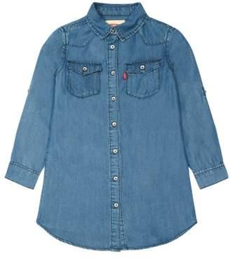 Levi's Sale - Tenley Denim Shirt Dress