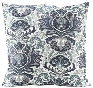 "Better Homes & Gardens Better Homes and Gardens Blue Damask Decorative Throw Pillow, 20"" x 20"""