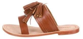 Antik Batik Leather Slide Sandals