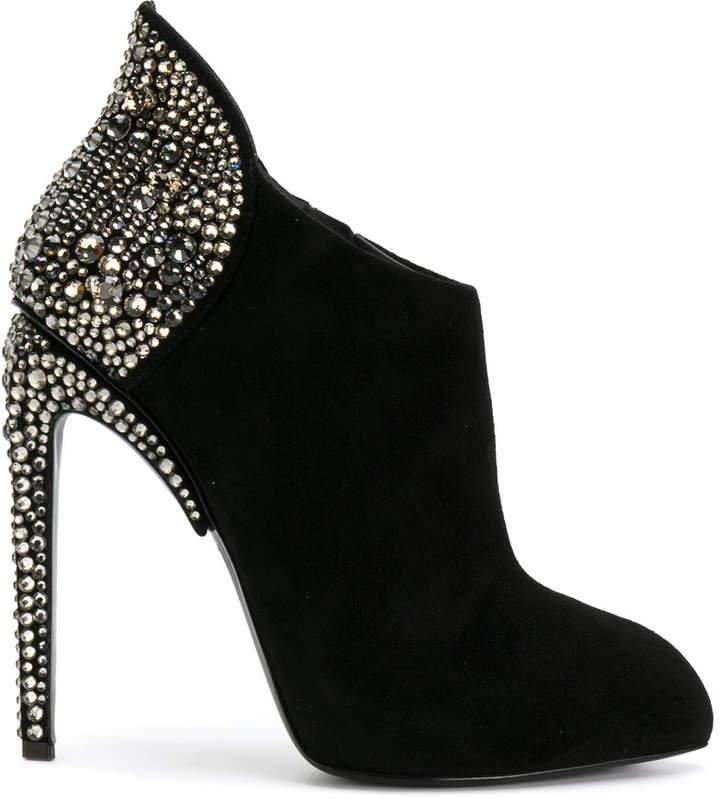 Giuseppe Zanotti Design x Jennifer Lopez Gertie booties
