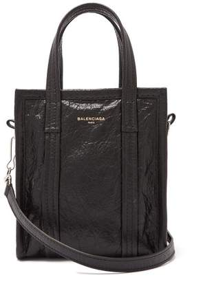 Balenciaga Bazar Shopper Xxs - Womens - Black