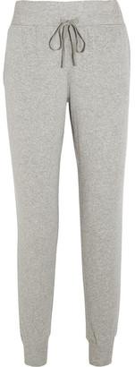 Calvin Klein Underwear - Cotton-blend Track Pants - Stone $75 thestylecure.com
