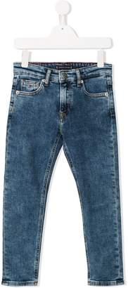 Tommy Hilfiger Junior acid wash jeans