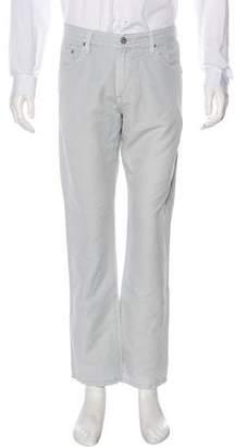 Adriano Goldschmied Graduate Linen-Blend Pants