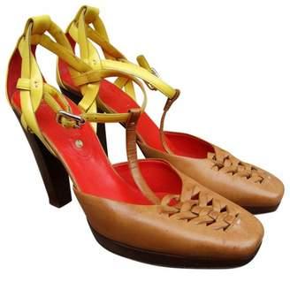 Celine Multicolour Leather Sandals