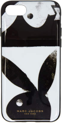 Marc Jacobs Black and White Playboy iPhone 8 Case