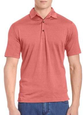 Isaia Pelleovo Short-Sleeve Shirt