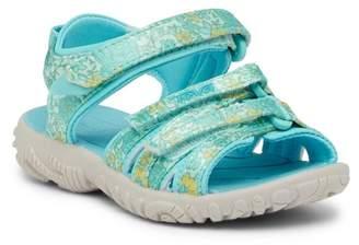 Teva Tirra Floral Sport Sandal (Toddler)