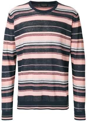 Roberto Collina striped crew neck sweater