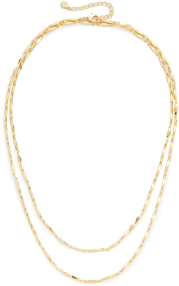 Gorjana Layer Faceted Wrap Necklace $60 thestylecure.com