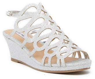 Steve Madden Lulu Wedge Sandal (Little Kid & Big Kid)