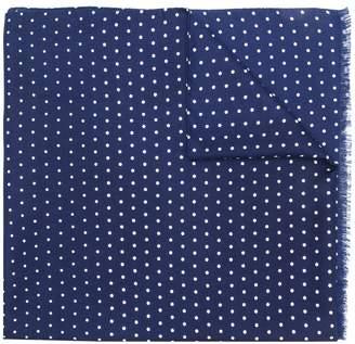 Ermenegildo Zegna polka-dot scarf