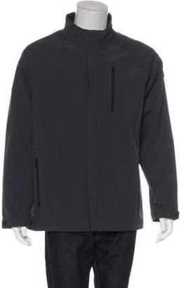 Tumi Woven Zip Jacket