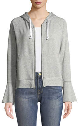 Generation Love Betty Hooded Flare-Sleeve Hoodie Jacket