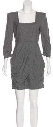 Tibi Structured Mini Dress w/ Tags