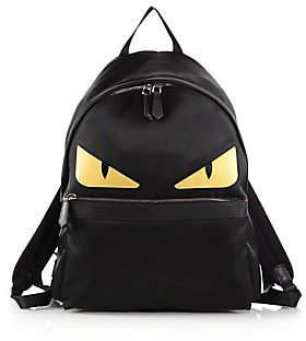 Fendi Men's Nylon Monster Backpack